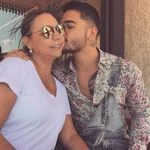 Maluma With His Mother Marlli Arias