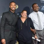 Michael B Jordan With His Parents