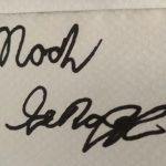 Noah Schnapp Signature