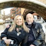 Paulo Coelho with his wife Christina Oiticica