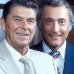 Richard Schweiker (Right) And Ronald Regan (Left)