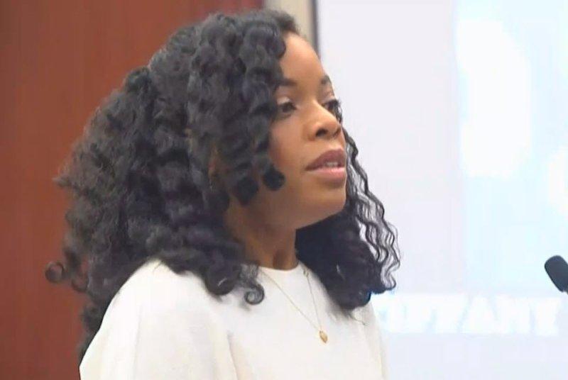 Tiffany Thomas Lopez during her testimony against Larry Nassar