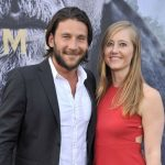 Zach McGowan With His Wife Emily Johnson