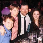 Andy Serkis With His Children