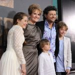 Andy Serkis With His Family