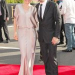Andy Serkis With His Wife Lorraine Ashbourne