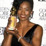Angela Bassett Receiving Golden Globe Award