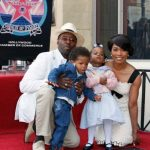 Angela Bassett With Her Husband And Children