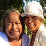 Angela Bassett With Her Mother Betty Jane Bassett