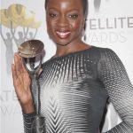 Danai Gurira Receiving Satellite Award