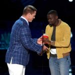 Daniel Kaluuya Getting MTV Award