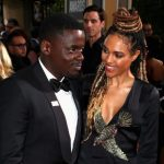 Daniel Kaluuya With His Girlfriend Amandla