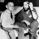 Fidel Castro Díaz-Balart With His Father Fidel Castro