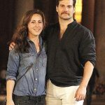 Henry Cavill with Lucy Cork