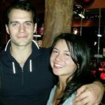 Henry Cavill with Marisa Gonzalo
