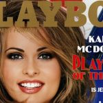 Karen Mcdougal On Playboy Magazine Cover