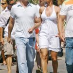 Karen Mcdougal With Her Ex-Boyfriend Bruce Willis