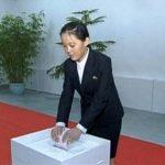 Kim Yo-jong Voting