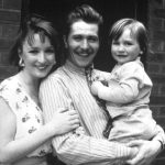 Lesley Manville With Gary Oldman And Their Son
