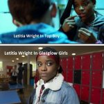 Letitia Wright In Movies
