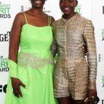 Lupita Nyong'o With Her Mother Dorothy Nyong'o