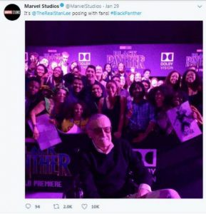 Stan Lee Spotted In An Event