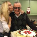 Stan Lee With His Daughter Joan Celia Lee