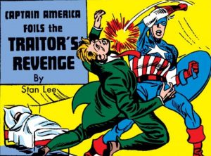 Stan Lees Comic Debut Captain America Foils the Traitors Revenge