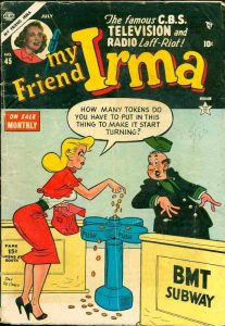 Stan Lees Newspaper Strip My Friend Irma