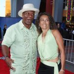 Ving Rhames with Deborah Reed