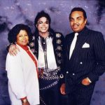Katherine Jackson with Michael Jackson and Joe Jackson