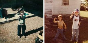 Chris Kyle's childhood images