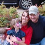 Chris Kyle with his wife and Children