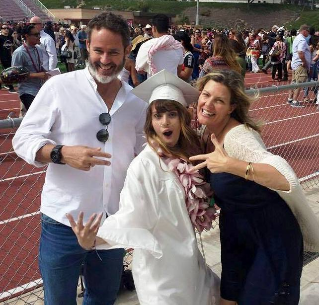 Claire Wineland with her parents