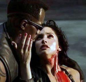 Leonor Varela In The Film, Blade 2