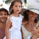 Leonor Varela With Her Family