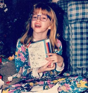 Danielle Panabaker childhood picture