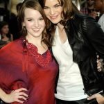 Danielle Panabaker with her sister Kay Panabaker