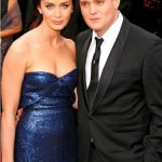 Emily Blunt with ex-boyfriend Michael Buble