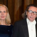 Jean Claude Arnault with his wife