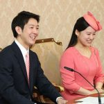 Kei Moriya with his wife Ayako