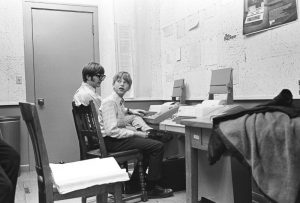 Paul Allen and Bill Gates at the age of 17 and 15