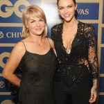 Ruby Rose With her Mother