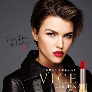 Ruby Rose became the face of Urban Decay Cosmetics 2016
