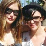 Ruby Rose with her Ex-Girlfriend, Catherine McNeil