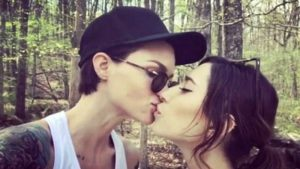 Ruby Rose with her Ex-Girlfriend, Jess Origliasso