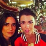 Ruby Rose with her Ex-Girlfriend, Lauren Abedini