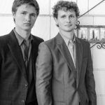 Ansel Elgort With His Brother