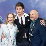 Ansel Elgort With His Parents