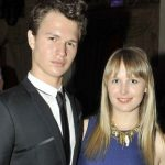 Ansel Elgort With His Sister